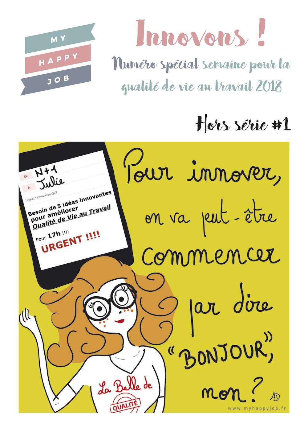 Semaine de la QVT : Interview de Jean-Louis Prata dans le Hors-série spécial publié par My Happy Job