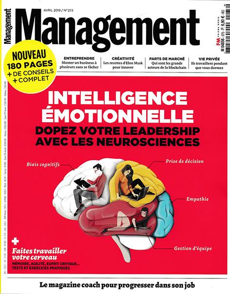 L'Institute of NeuroCognitivism mis en avant dans la revue Management